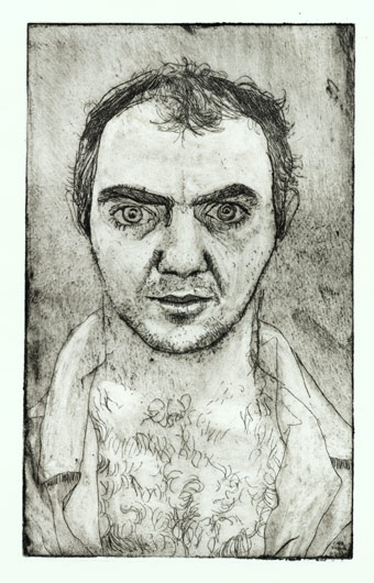 Self Portrait (etching)