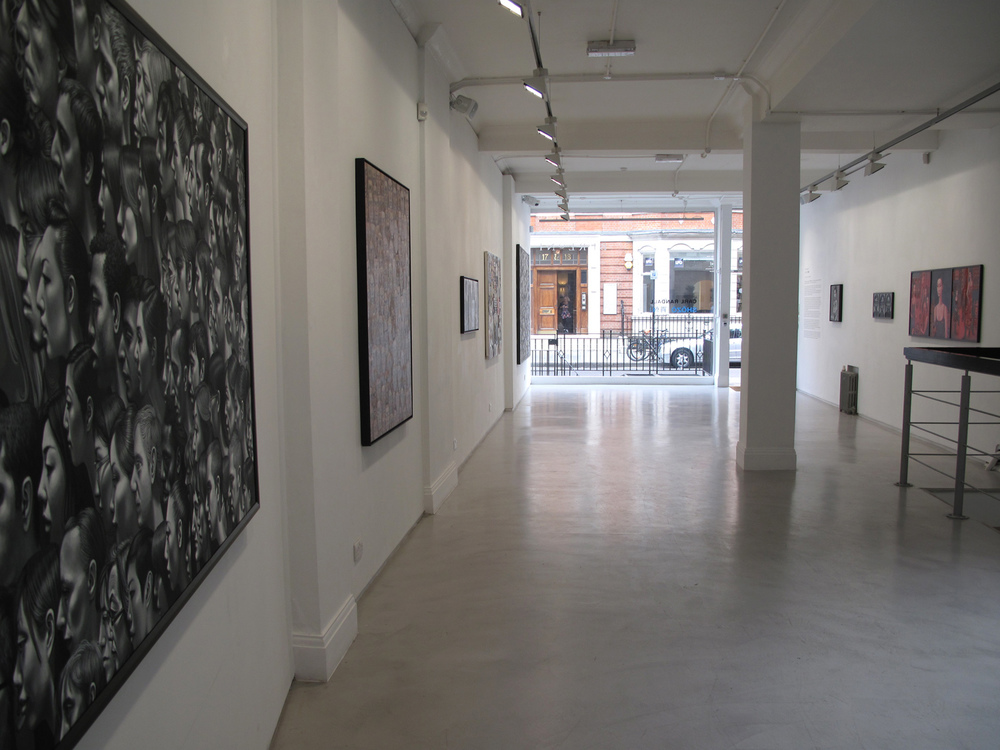 Carl Randall exhibitions.