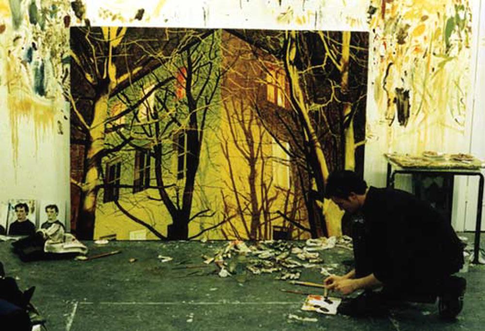 Carl Randall artist studio