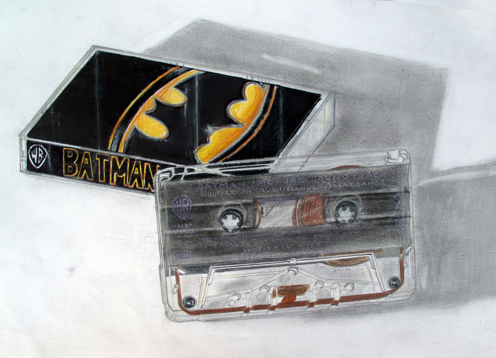 Cassette tape ('Batman' by Prince)