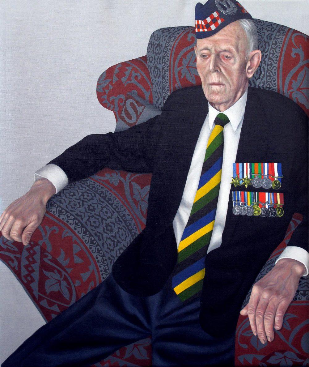 Portrait of a D-Day Veteran (Mr.James Glennie)
