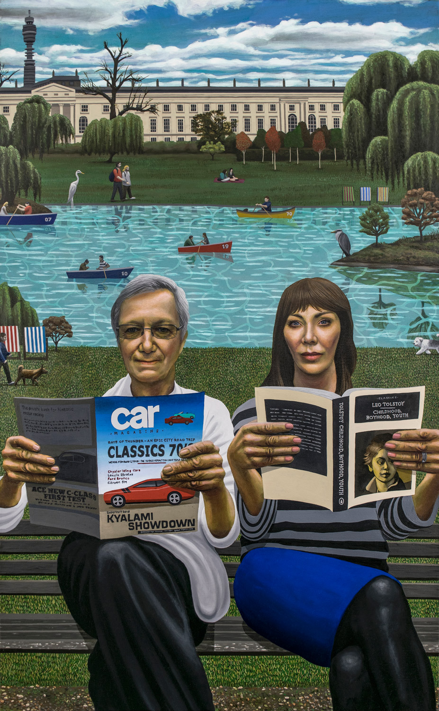 Tony and Maureen Wheeler in Regents Park