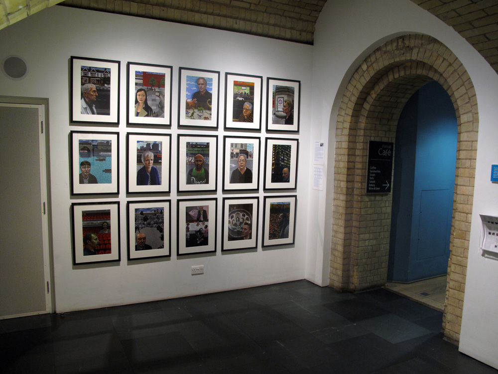 Carl Randall's 'London Portraits' at The National Portrait Gallery