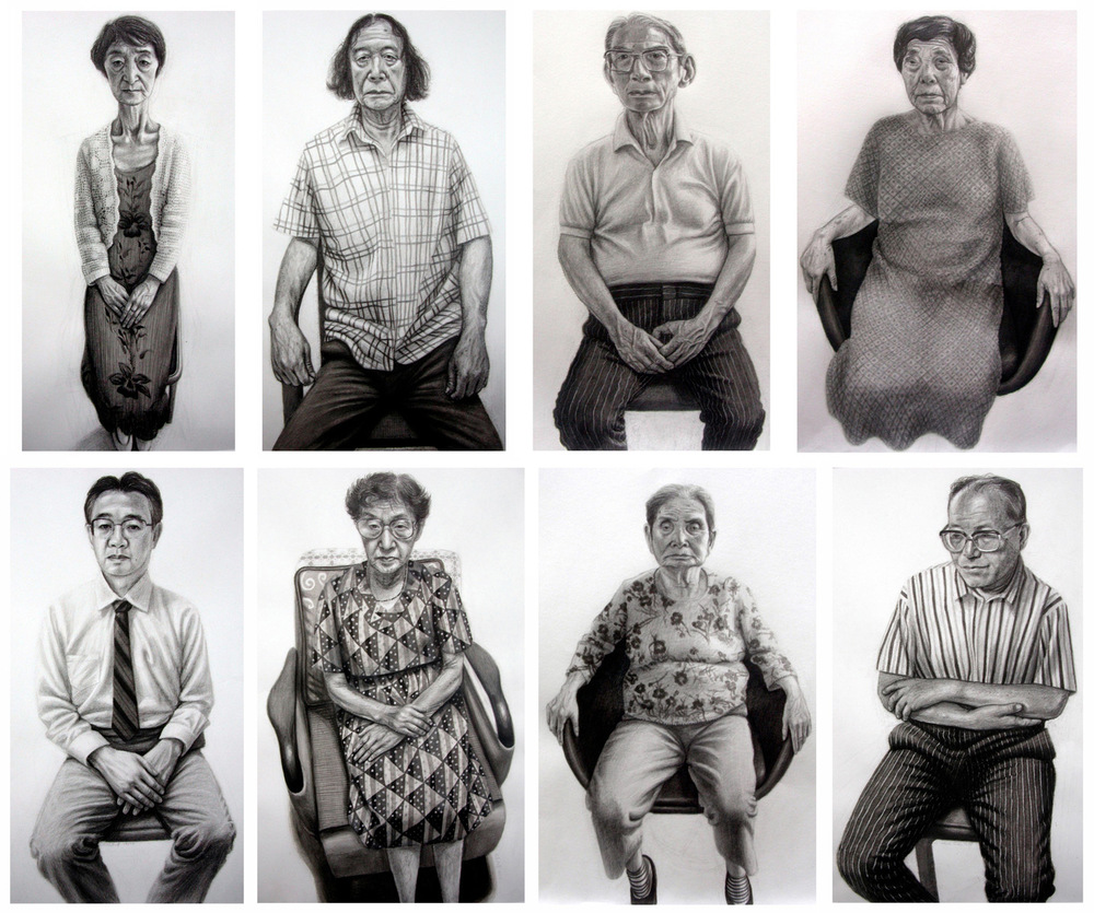 Survivors of the atomic bomb, Hiroshima (Hibakusha Portraits)