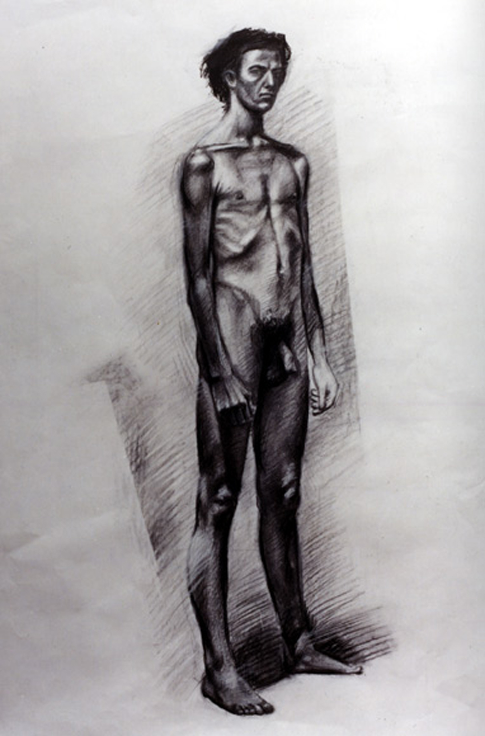 Nude Self Portrait (as a Teenager)