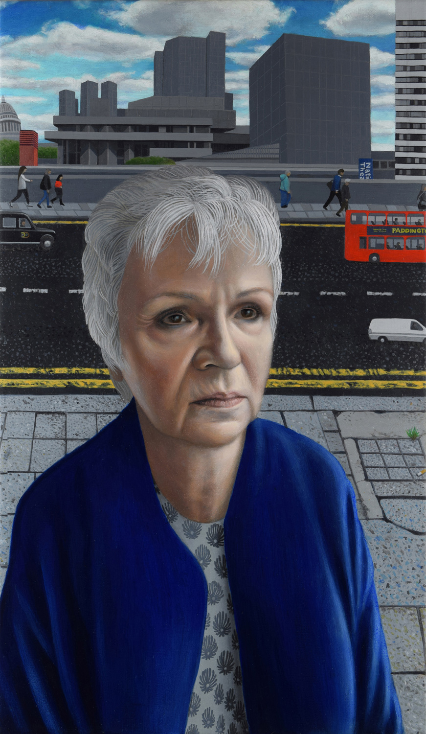 Actress Julie Walters and The Royal National Theatre