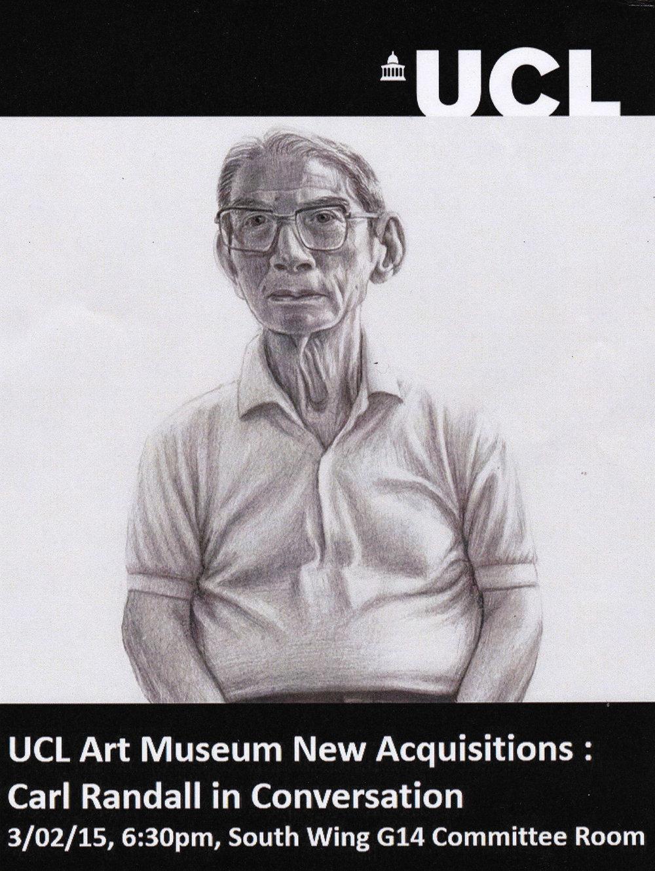 Carl Randall artist event.
