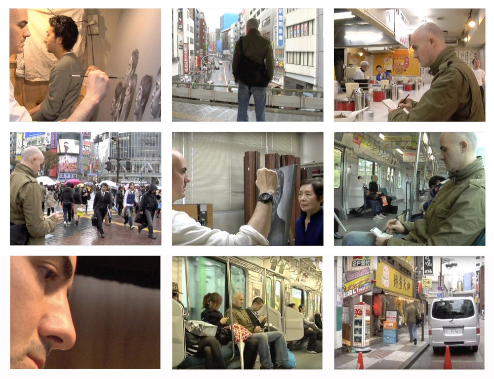'Japan Portraits' documentary video
