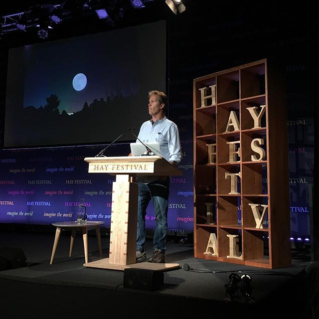 Amazing event with Jonathan White @hayfestival. Did you know that the tide is one reeeeeally long wave? We didn't! Next stop @festofnature on the 4th June. Grab your tickets by clicking the link in our bio. #bristolfestivalofnature #festivalofnature #hayfestival2018 #tides