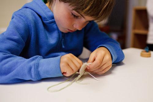 A Look Inside Arlington Montessori House