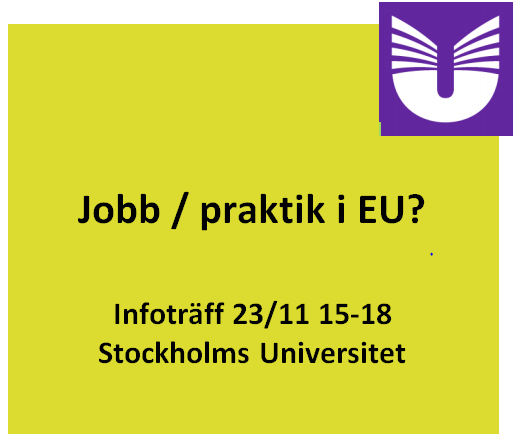 Jobb/praktik i EU?