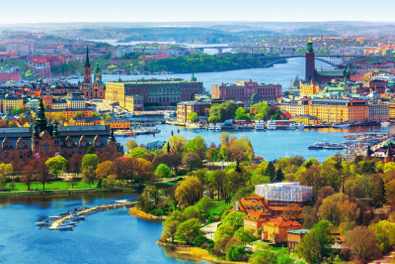 Stockholm's spectacular panoramic view