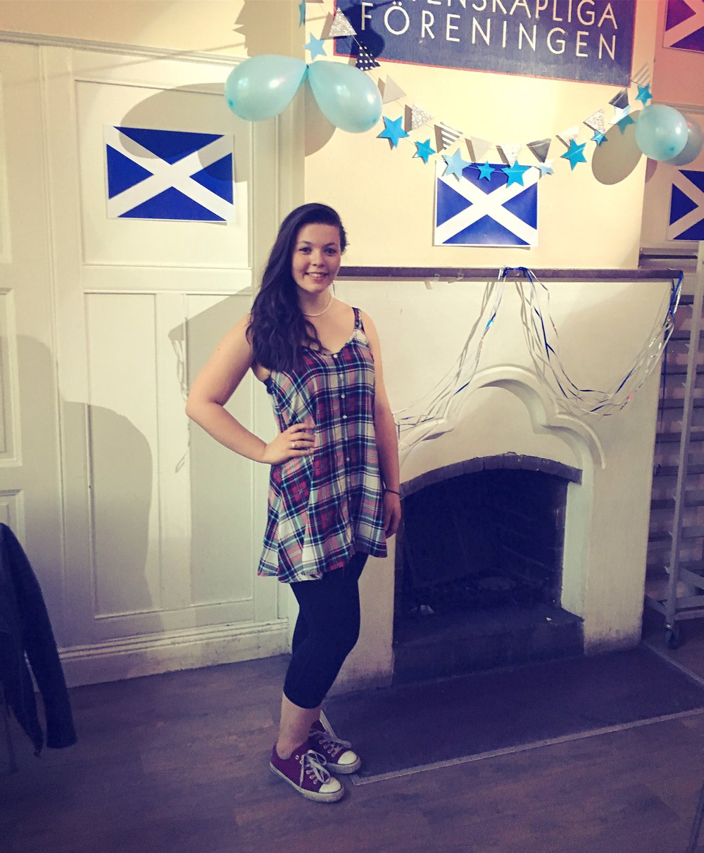 Ambassador Nicola was the Scottish night event coordinator at 'Bojan' this spring