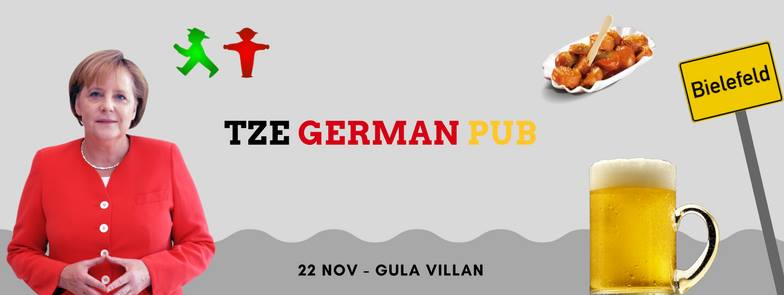 Tze German Pub, 22 november at Gula villan