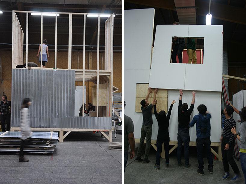 Construction at Workshop
