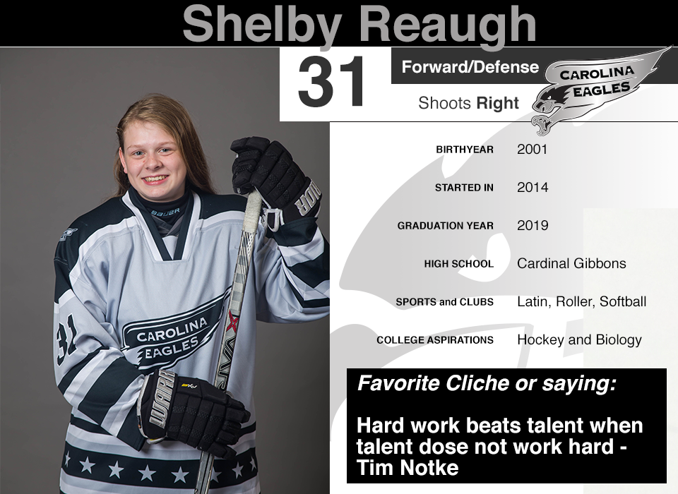 #31 Shelby Reaugh GY 2019