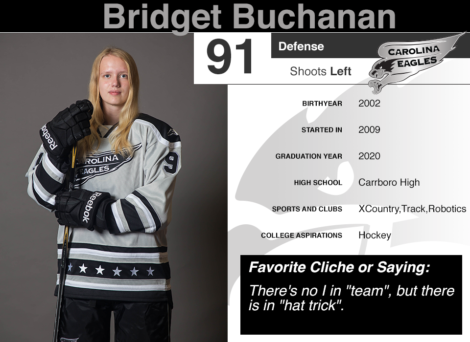 #91 Bridget Buchanan GY 2020