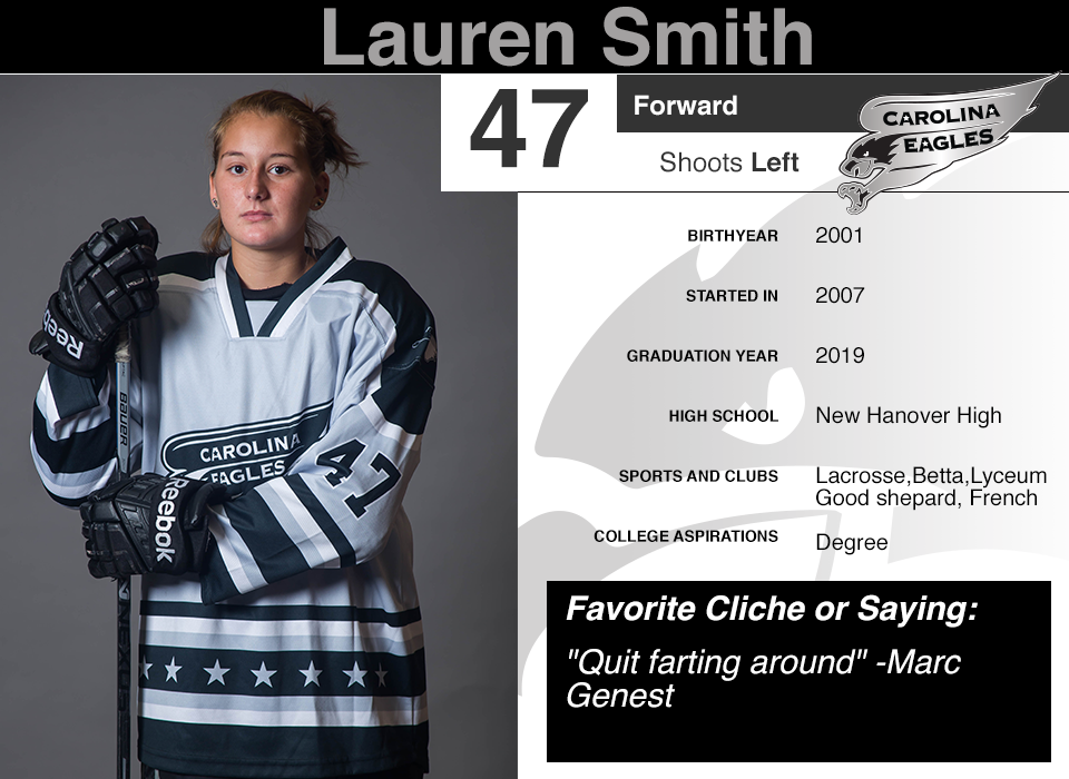 #47 Lauren Smith GY 2019