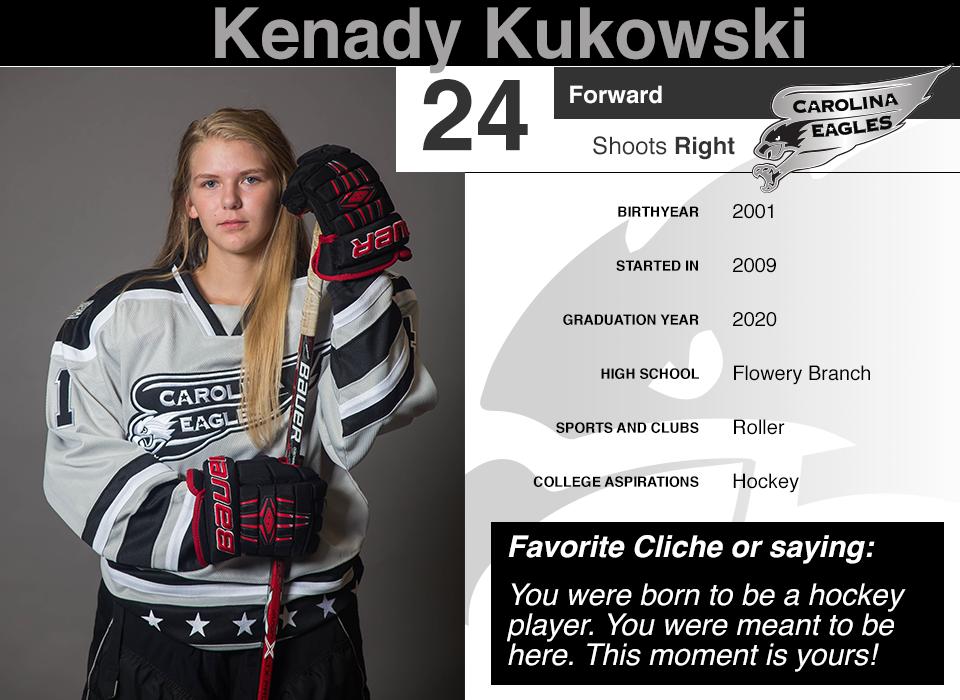 #24 Kenady Kukowski GY 2019