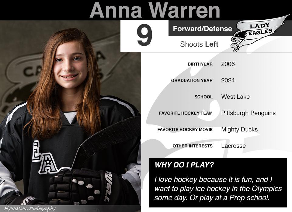 #9 Anna Warren