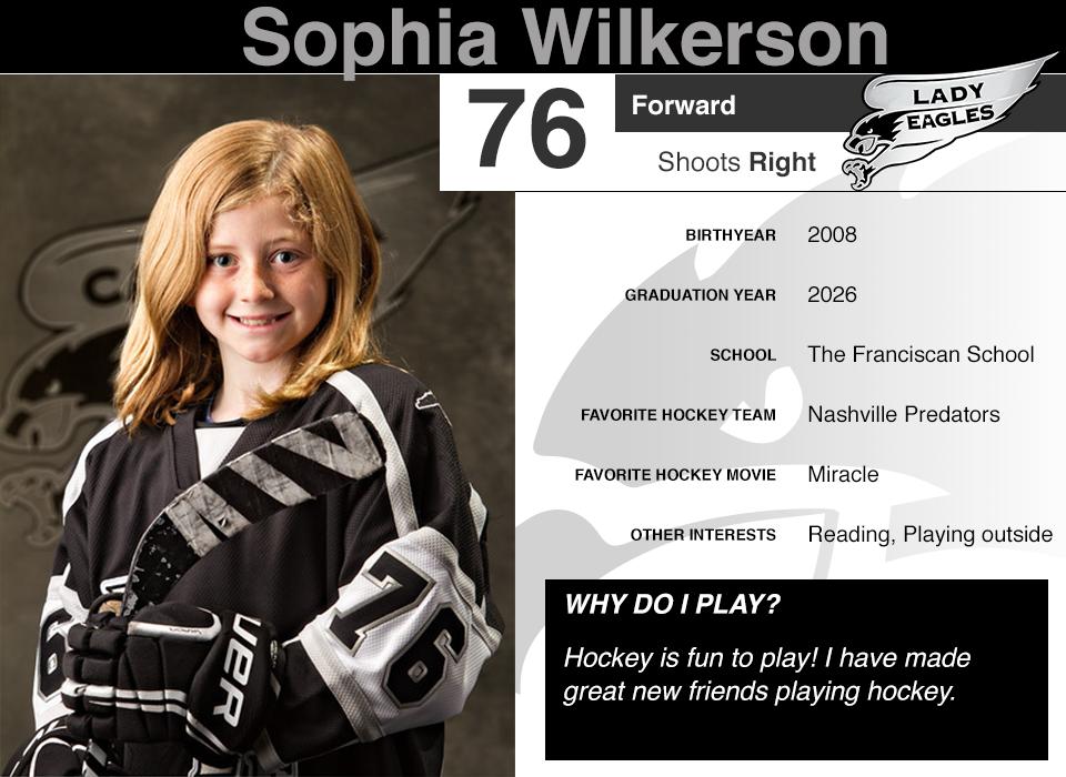 #76 Sophia Wilkerson