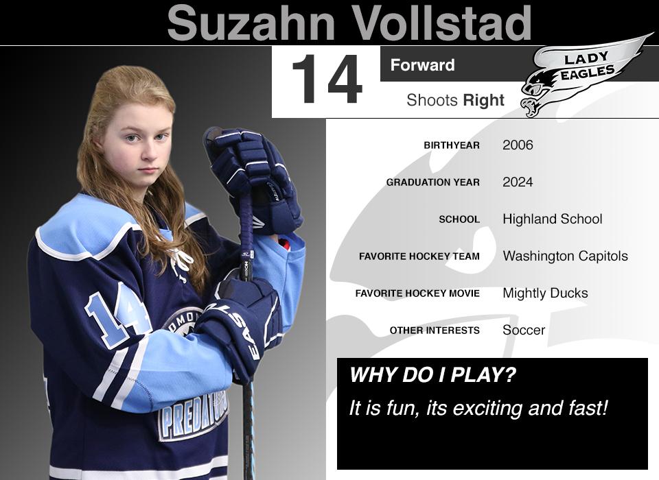 #14 Suzahn Vollstad