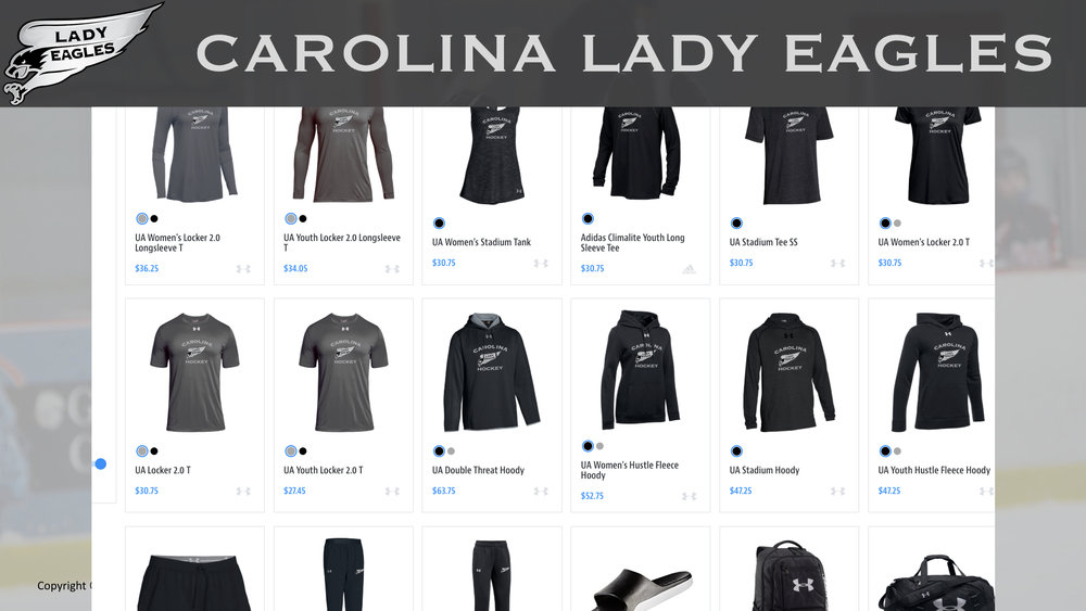 Lady Eagle Apparel