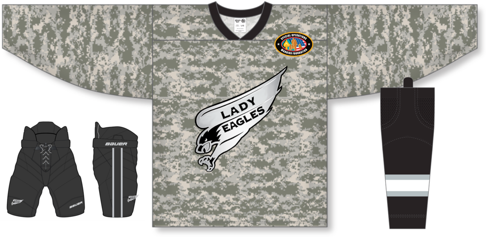 Lady Eagles full package or individual ordering