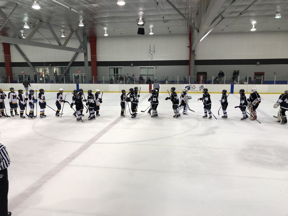 U19 CBHL 3-0 shutout vs Montgomery