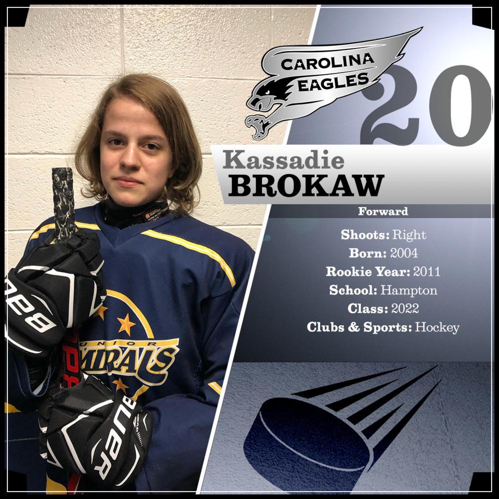 #20 Kassadie Brokaw