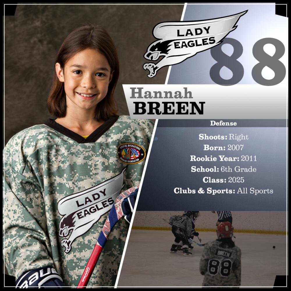 #88 Hannah Breen