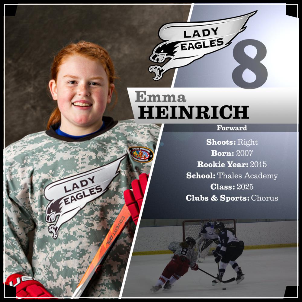 #8 Emma Heinrich