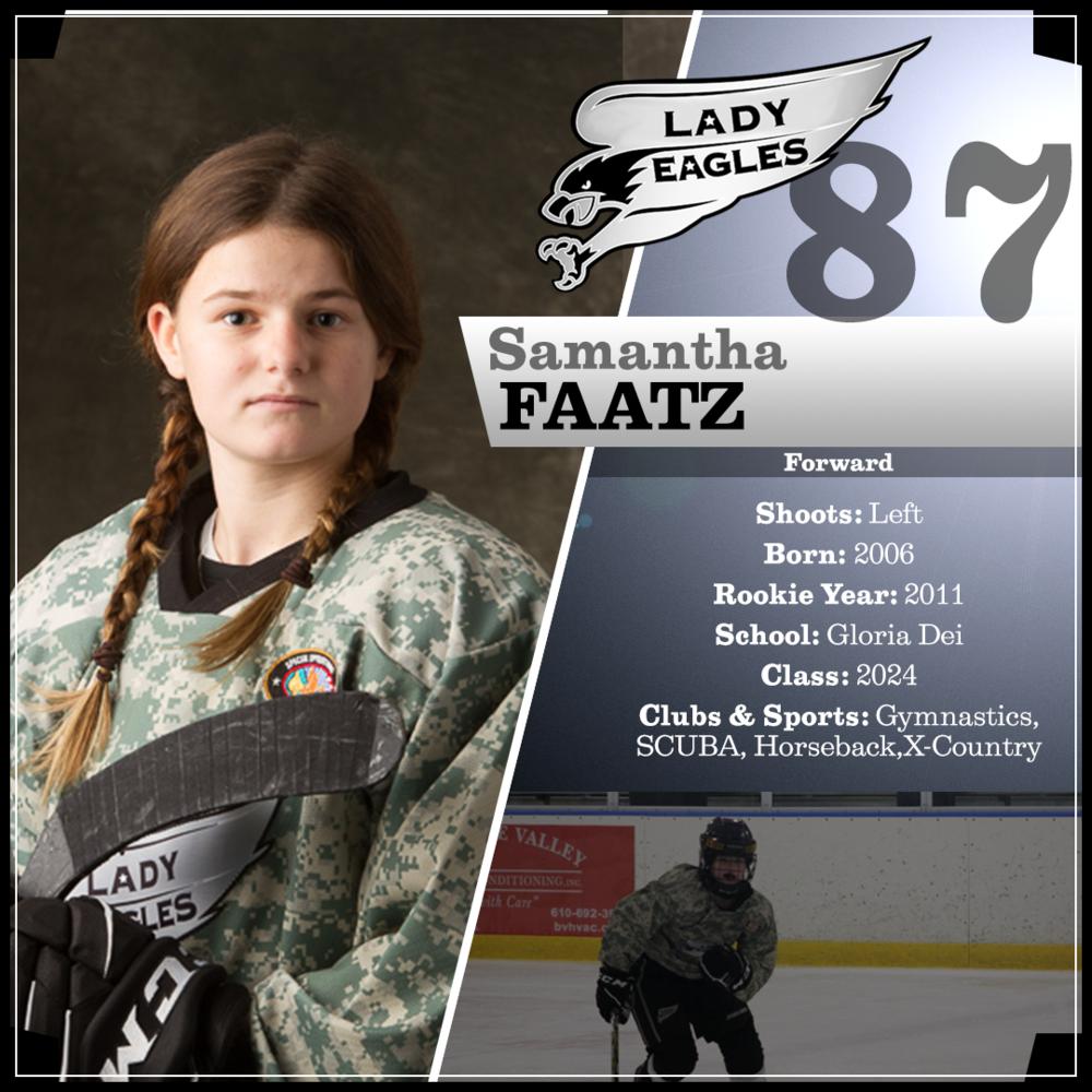 #87 Samantha Faatz