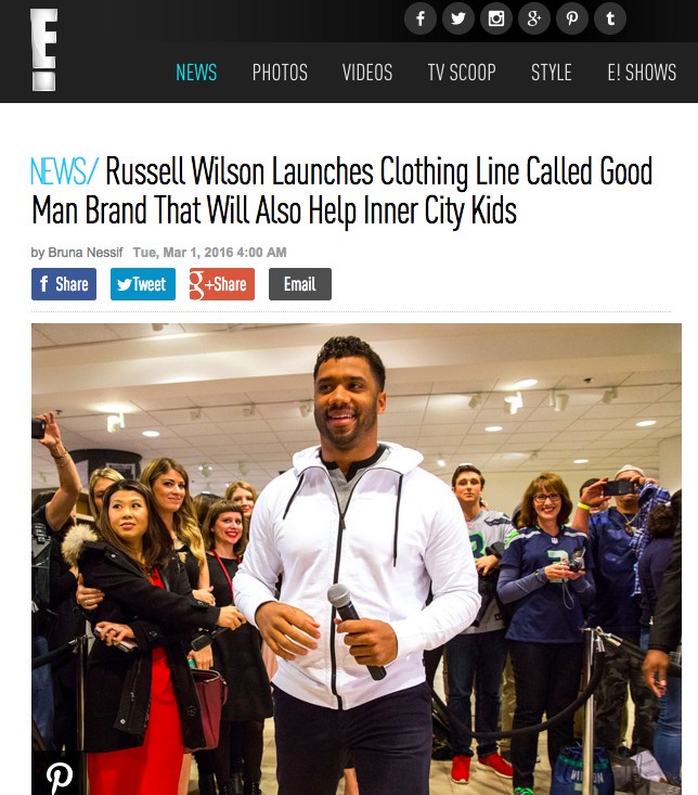 http://www.eonline.com/uk/news/744810/russell-wilson-launches-clothing-line-called-good-man-brand-that-will-also-help-inner-city-kids