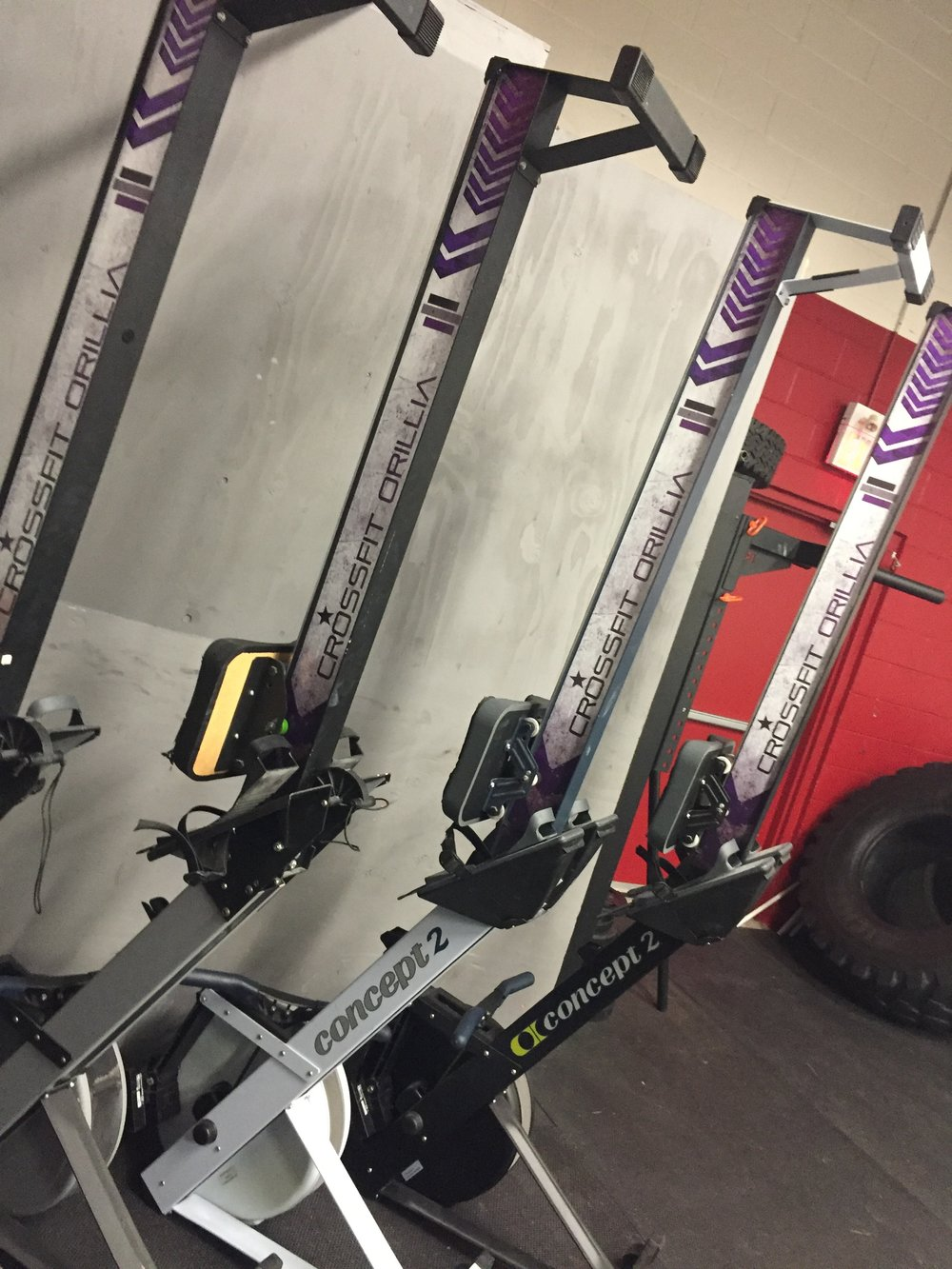 We decked out the ergs!  Check it out!