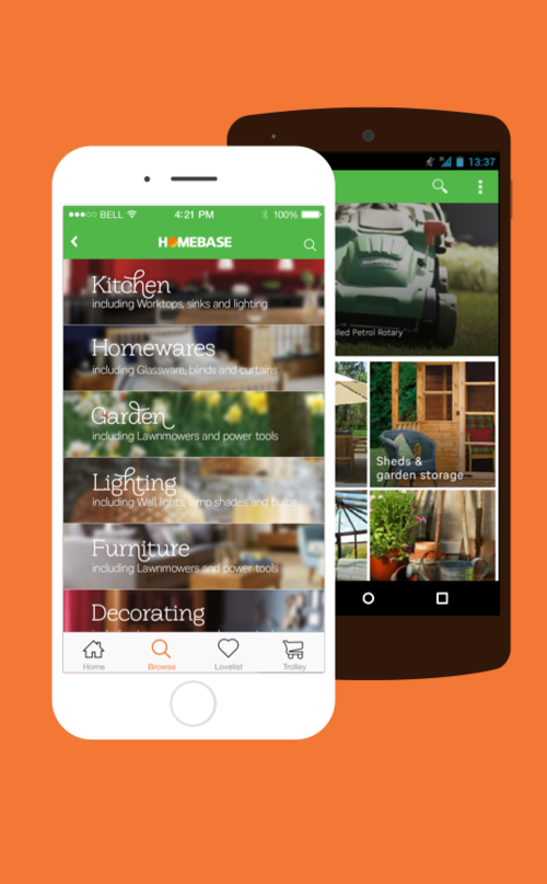 Homebase mobile apps -