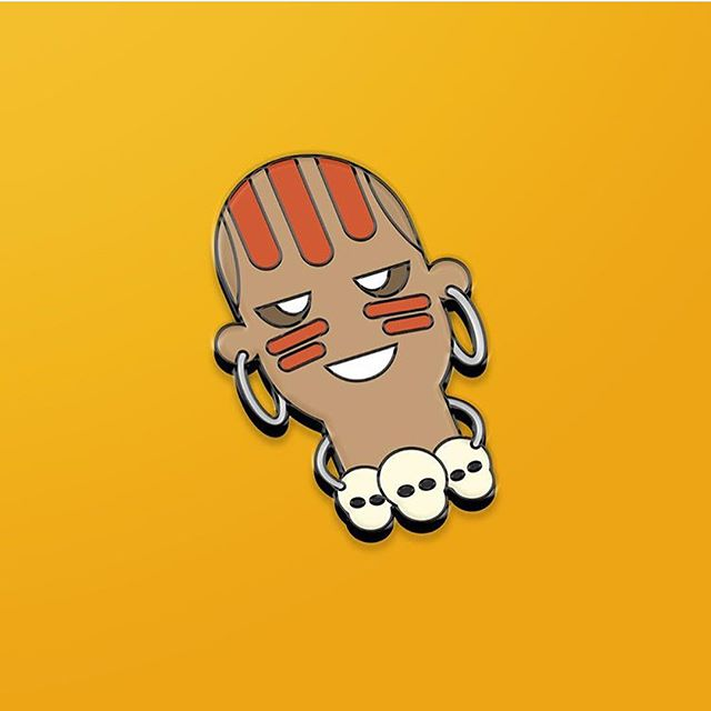 Pin drop, taking pre-orders on my player Dhalsim hard enamel pins – @recliningworm . .⠀ #90sheroes #streetfighter2 #retrogaming #retrogame #etsyseller #dhalsim #pins #pinsforsale #pingamestrong #pincommunity #pinstagram #pintrill #enamelpins #pinlove #pinsofinstagram #patchgamestrong #flair #streetstyle #carhartt #carharttwip #eastpack #ellesse #bape #supremenyc #supremetalk #popart #kawaii