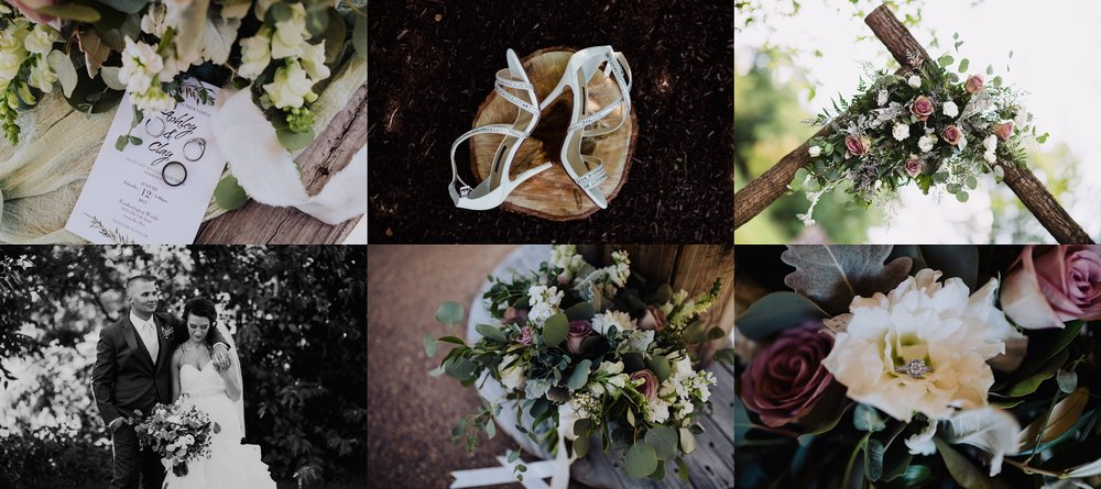 Ashley + Clay -                 A Boho Summer Wedding