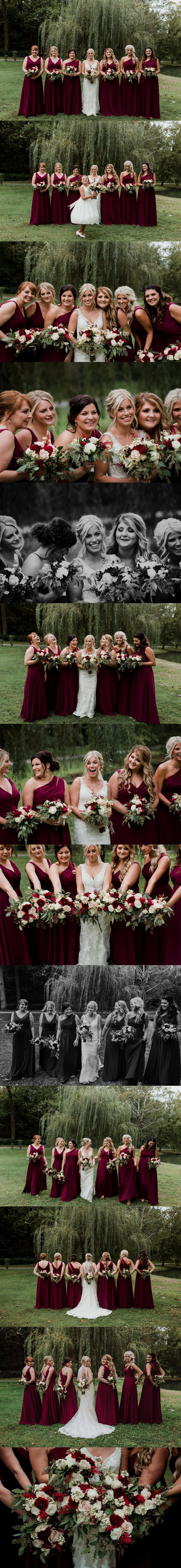 Columbus Ohio Wedding Bridesmaids
