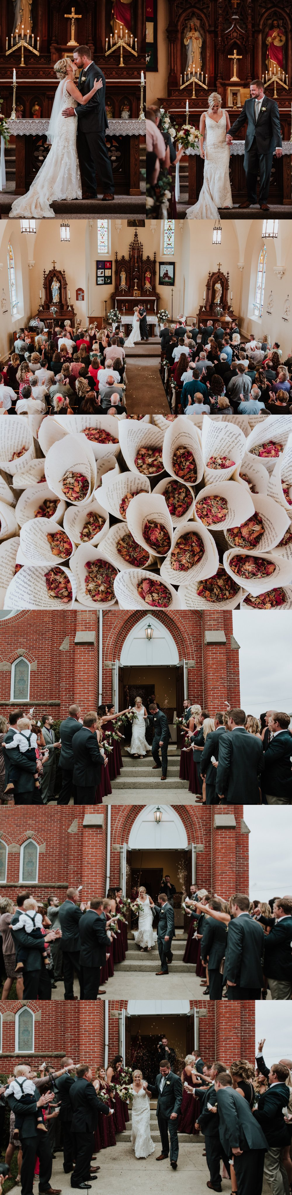 Upper Sandusky Church Wedding