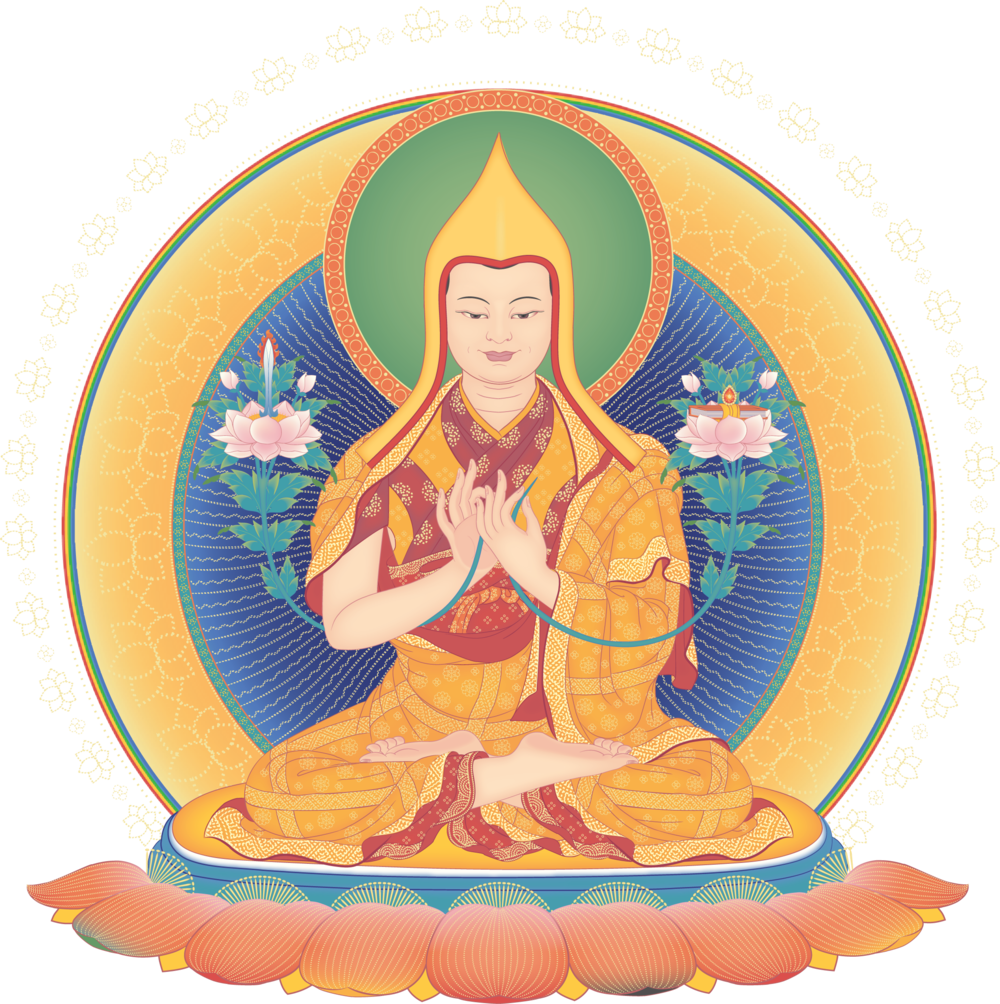 Je tsongkhapa, the spiritual guide of kadampa buddhism