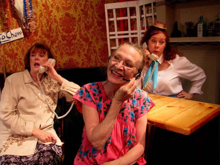 Susan in Unfortunate Honeymoon phones.jpg