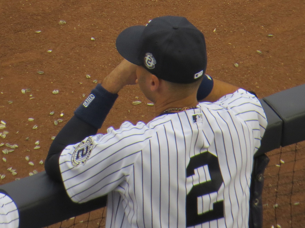 Derek Jeter, Yankee Stadium, Sept. 21, 2014
