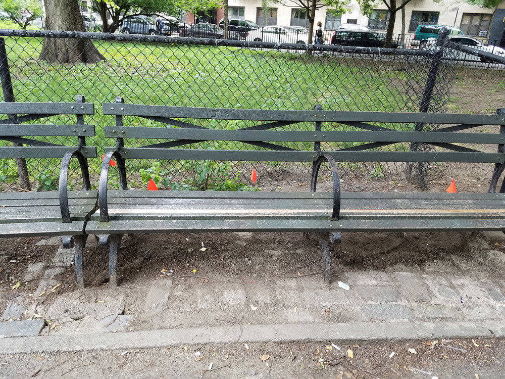 The southwest area of Tompkins Square Park, July 1, 2016.