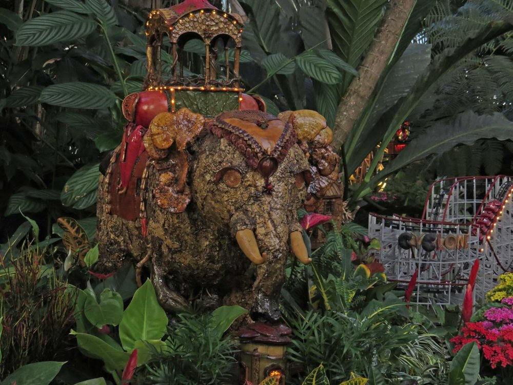 The Holiday Train Show, New York Botanical Garden, 2016