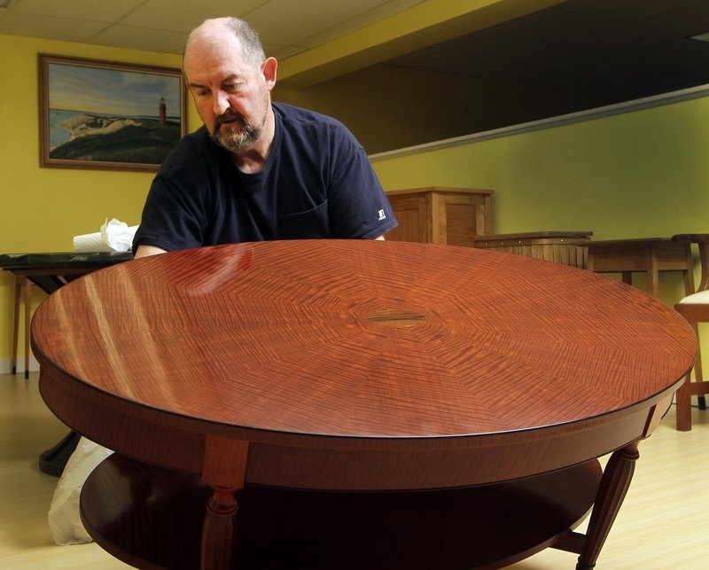 Terry Moore, N.H. Furniture Master