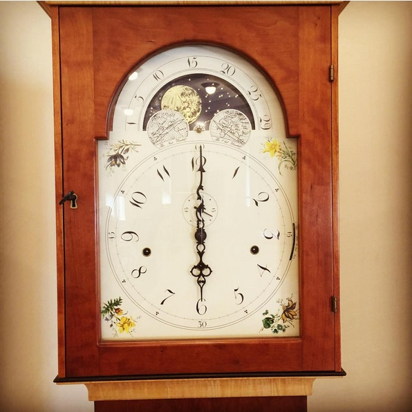 Clock by New Hampshire Prison Outreach Program student