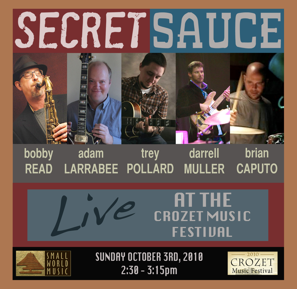 Secret Sauce - Crozet Music Festival 10-3-10