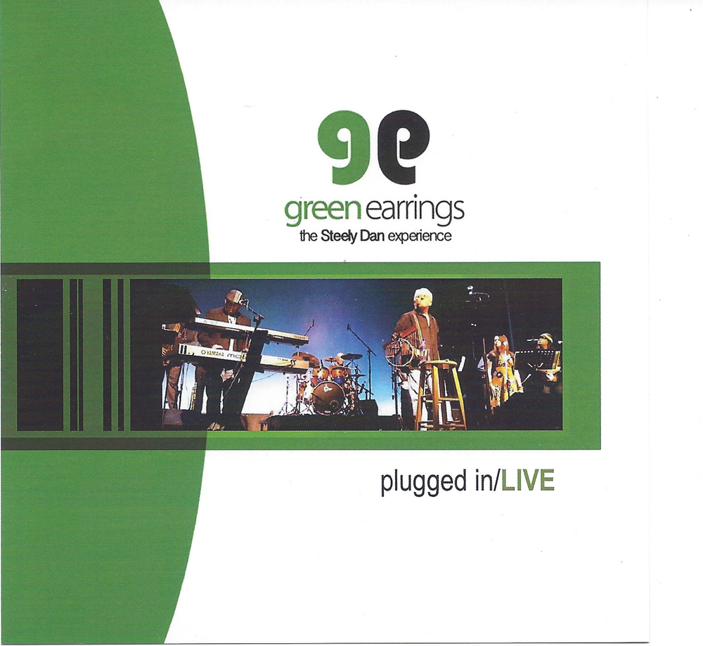 Green Earrings - plugged in/LIVE