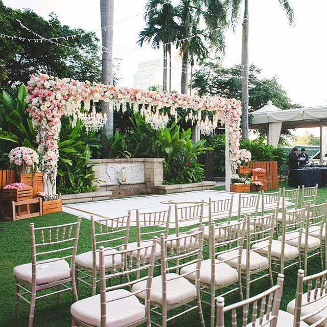 #outdoor #garden #wedding #thailand #bangkok